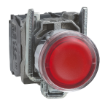 Imagine BUTON C-DA FI22 CU LAMPA 1ND+1NI  24VAC-VDC LED ROSU  XB4BW34B5