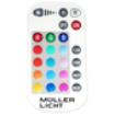 Imagine BEC LED E14 B, 2700K+RGB/ 240LM,  5W 230V, P37, DIMABIL CU TELECOMANDA
