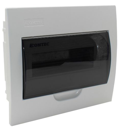Imagine COFRET INCASTRAT 18MD 1R IP40, MF0015-01622,ALB,USA TRANSPARENTA, 250*400*100MM