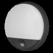 Imagine APLICA LED CU SENZOR MISCARE140,  10W, 4000K, 800LM, IP54, NEGRU, AGAT LED
