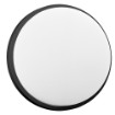 Imagine APLICA LED,  15W, 4000K, 1100LM, IP54, NEGRU, OR-OP-6112BLPM4