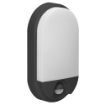 Imagine APLICA LED CU SENZOR MISCARE140, 15W, 4000K, 1100LM, IP54, NEGRU, NEFRYT LED