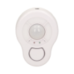 Imagine MINI ALARMA WIRELESS DE TAVAN CU SIRENA, TELECOMANDA, DE 5 M, BATERIE, OR-MA-714