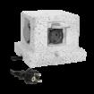 Imagine PRIZA DE GRADINA POST, 4X2P + Z (SCHUKO), CABLU CAUCIUC H07RN-F 3X1.5MM2, 3M