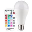 Imagine BEC LED E27 A, 2700K+RGB/780LM, 10W 230V, A65 DIMABIL CU TELECOMANDA