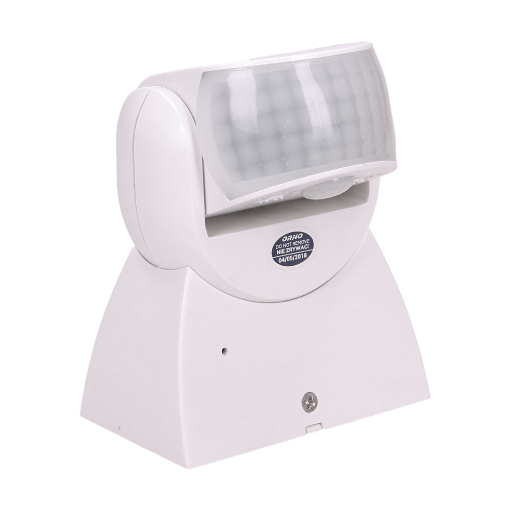 Imagine SENZOR DE MISCARE 360/180 GRADE. 2 SENZORI, IP65, 1200W, ALB OR-CR-254/W